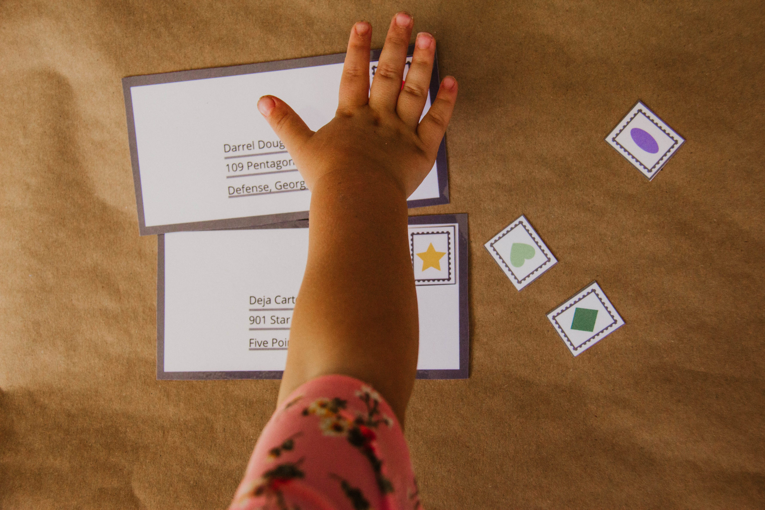 Post Office Preschool Learning Unit