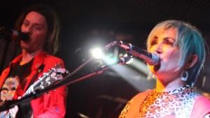 elletrodomestico live onstage at hemlock Tavern