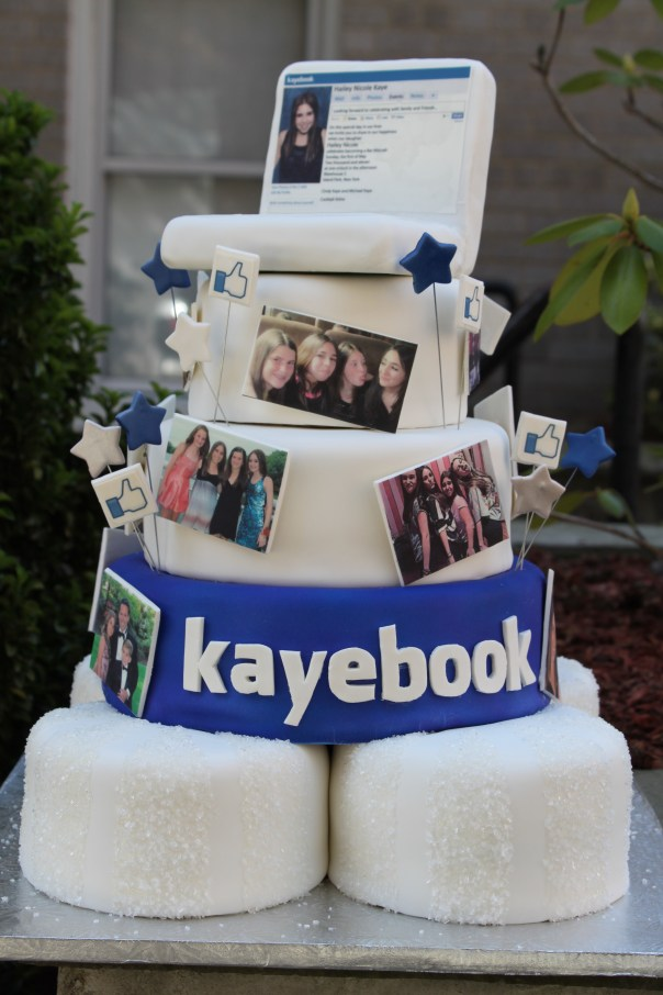 Like This Facebook Cake