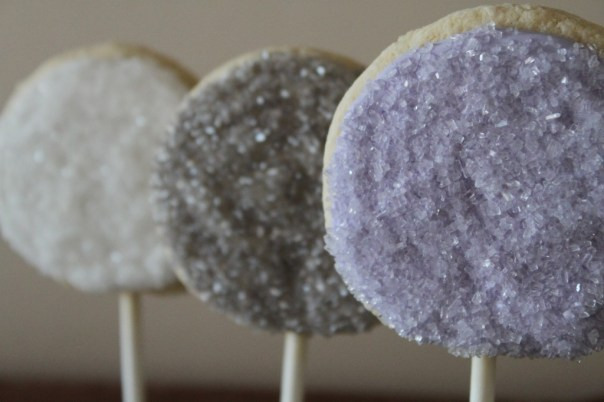 Crystal Sugar Cookie Pops