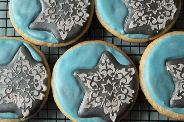 Chanukah Star Cookies