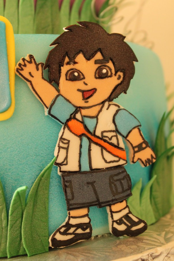Diego made out of fondant
