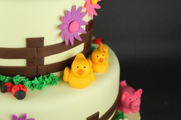 Little Fondant Ducks
