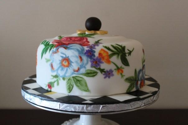 MacKenzie Childs Inspired Cake