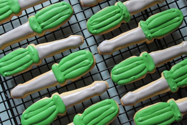 Screwdriver Cookies