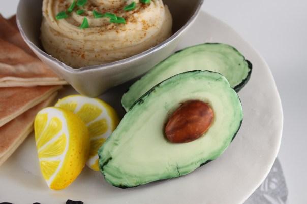 Fondant Avocados