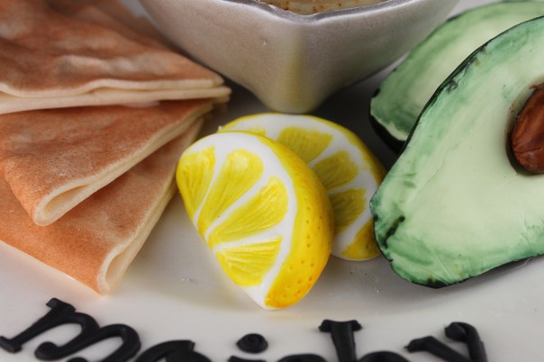Lemon Slices Made of Fondant