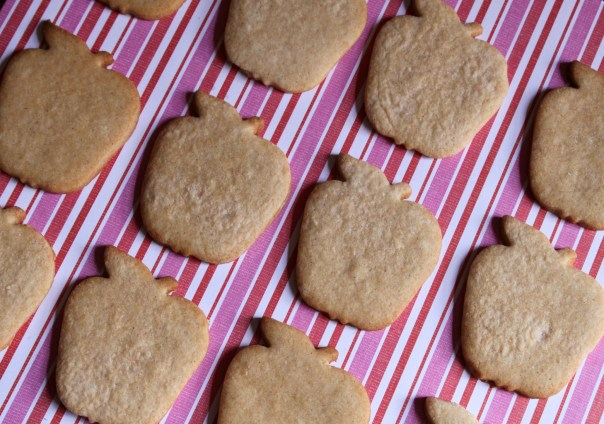 Apple Shaped Honey Cookies