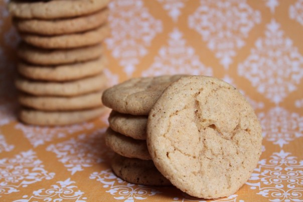 Stacks of Chai Spiced Snickerdoodles