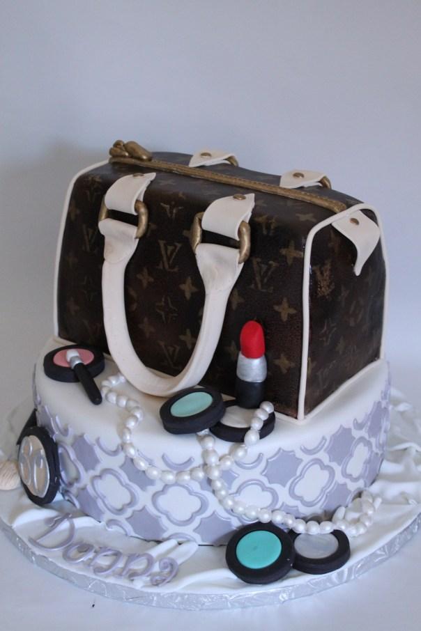 Designer Handbag Cake