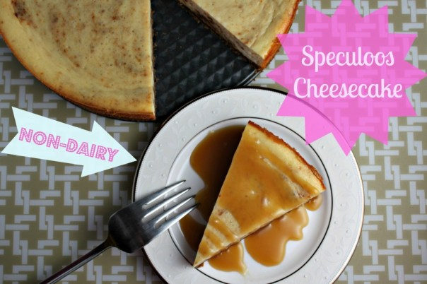 Non-Dairy Speculoos Cheesecake