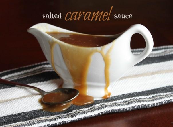 Vegan Salted Caramel Sauce