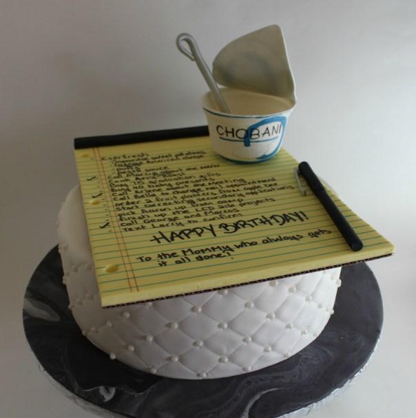 Notepad Cake