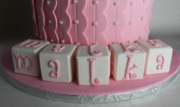 gum paste baby blocks