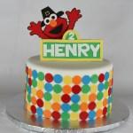 Pilgrim Elmo Birthday Cake