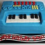 Keyboard Cake