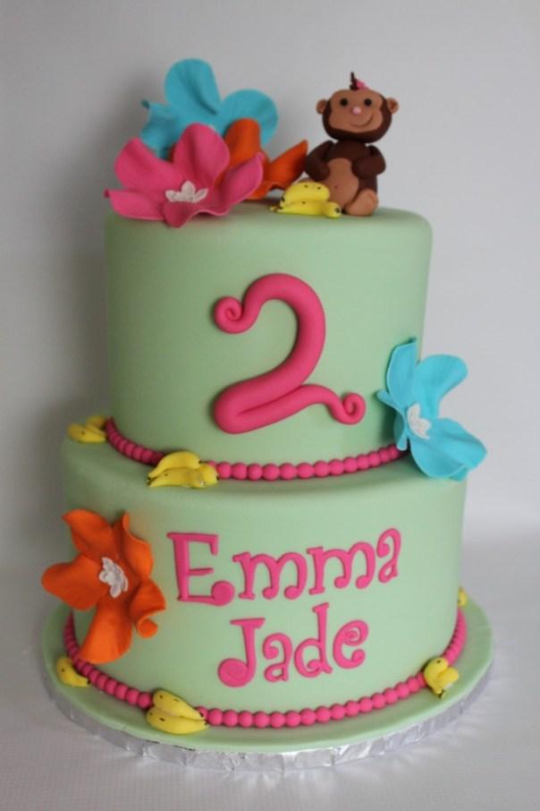 Tropical Monkey Cake