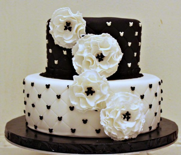 Mickey Mouse Engagement Cake