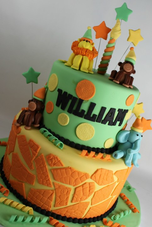 Safari Celebration Cake