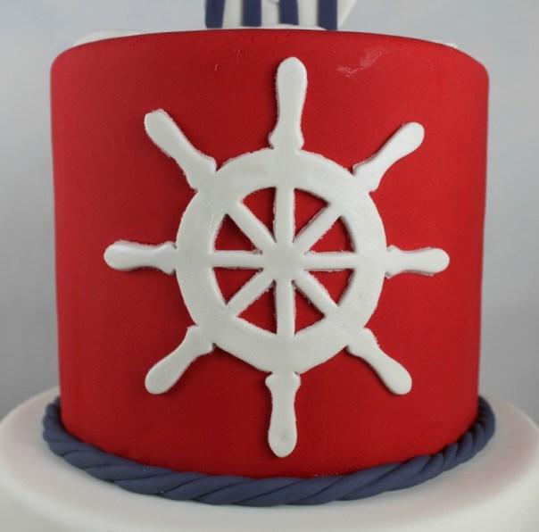 Ship Sailing Steering Wheel