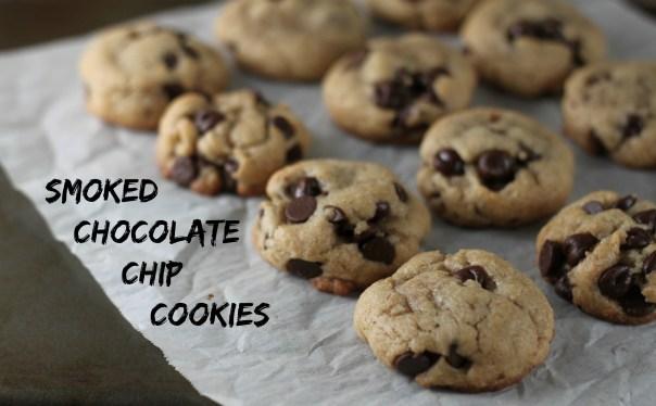 Smoked Chocolate Chip Cookies