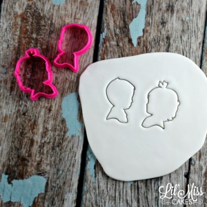 Boy Girl Silhouette Cutters   Lil Miss Cakes