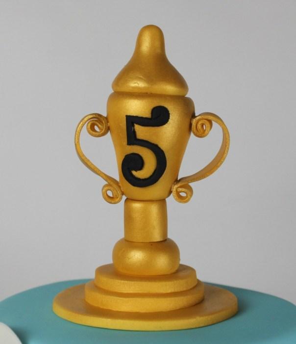 Gum Paste Trophy