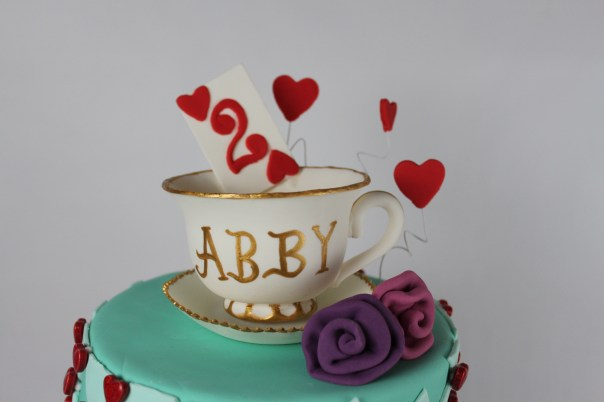 Edible Fondant Tea Cup