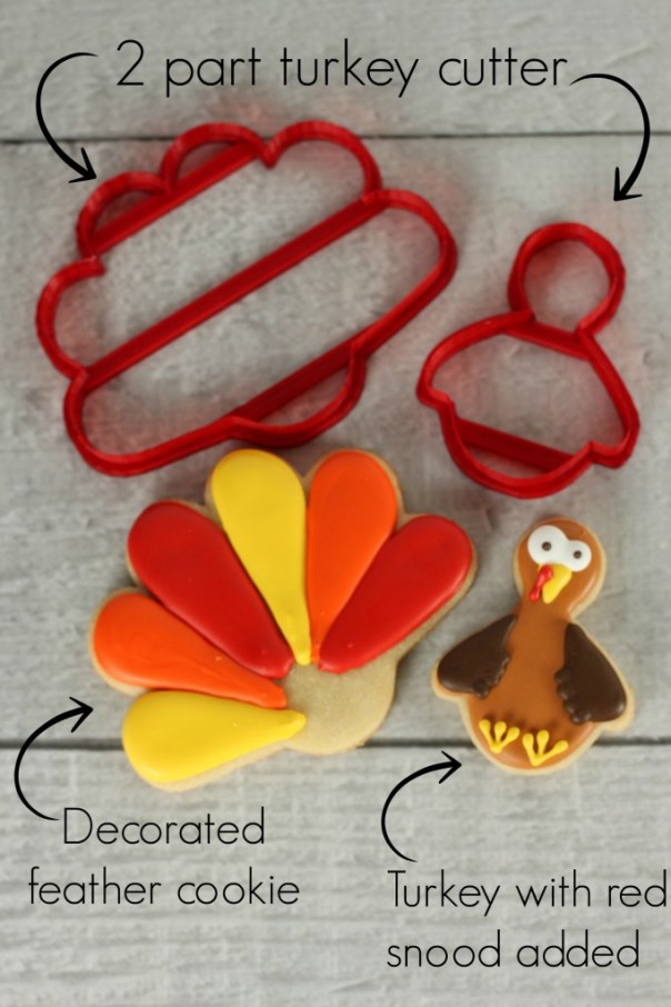 2 part turkey cookie