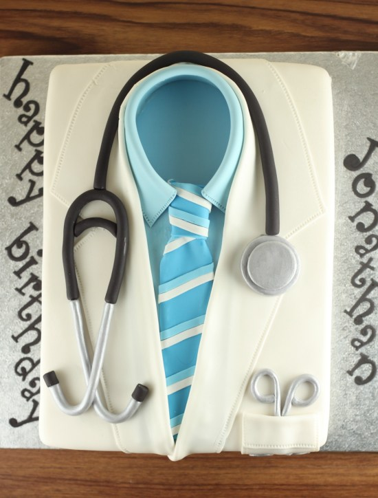 Doctor Coat Cake | Lil Miss Cakes