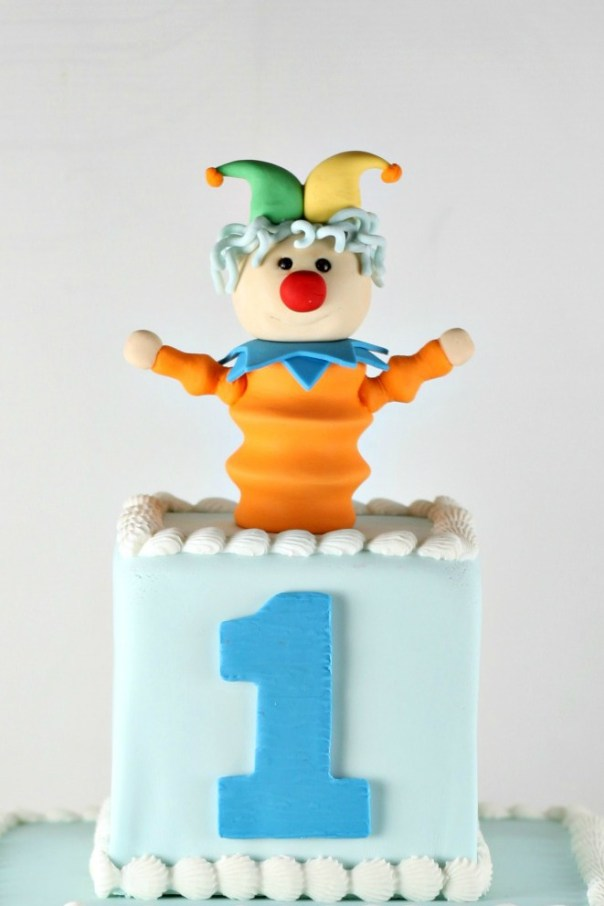 Fondant Jack In The Box | Lil Miss Cakes