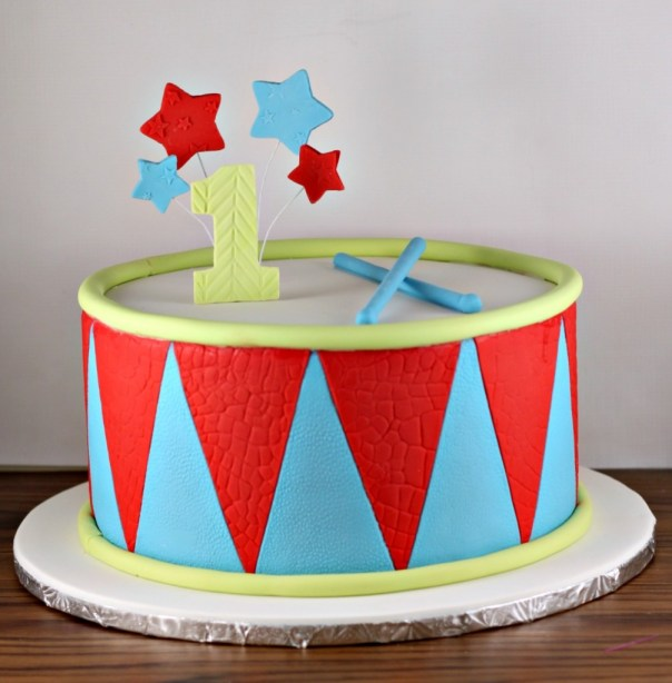 Drum Cake   Lil Miss Cakes