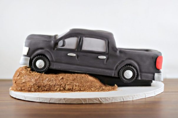 Pickup Truck Cake Side View | Lil Miss Cakes