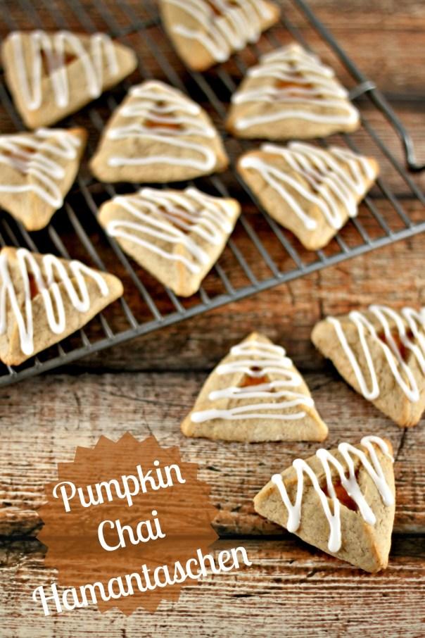 Pumpkin Chai Hamantaschen | Lil Miss Cakes
