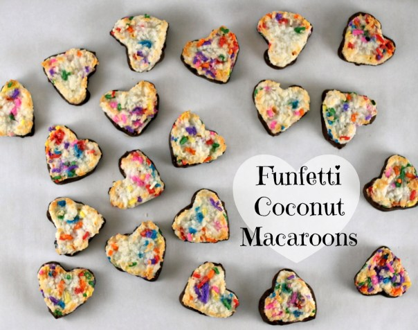 Funfetti Coconut Macaroons | Lil Miss Cakes