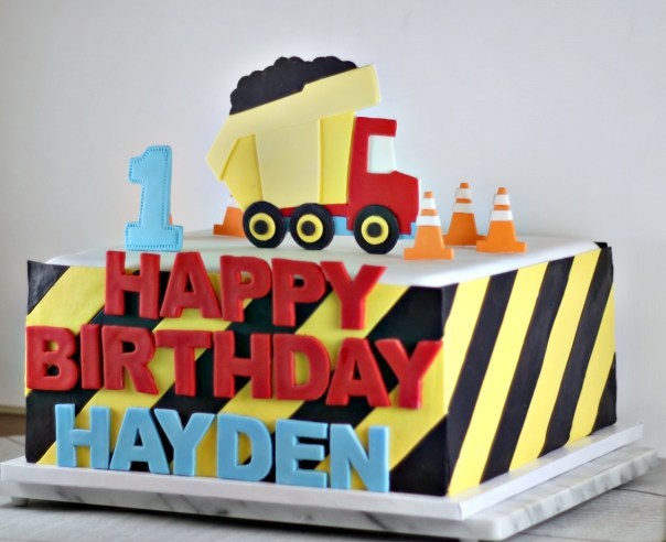 Construction Cake Side View | Lil Miss Cakes