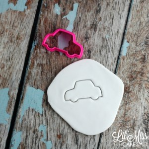 standard car cutter | Lil Miss Cakes