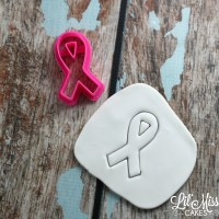 Awareness Ribbon Cutter | Lil Miss Cakes