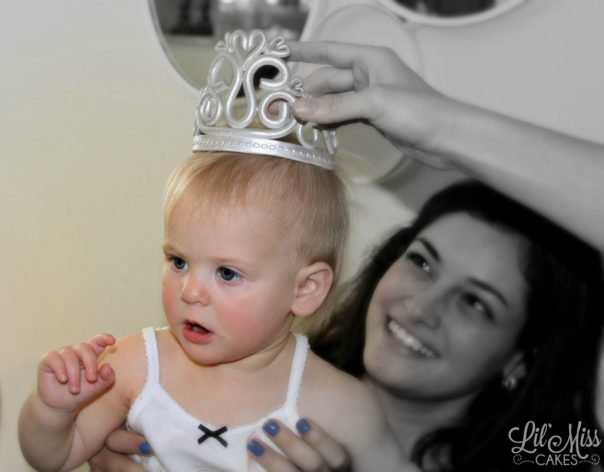 Alexas Edible Crown | Lil Miss Cakes