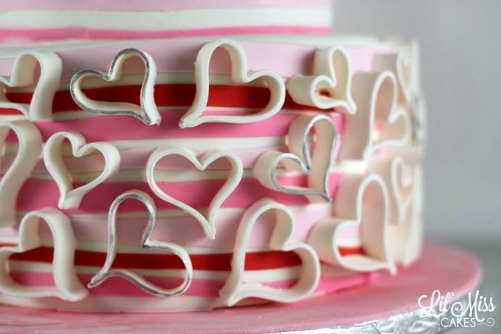 Fondant Hearts   Lil Miss Cakes