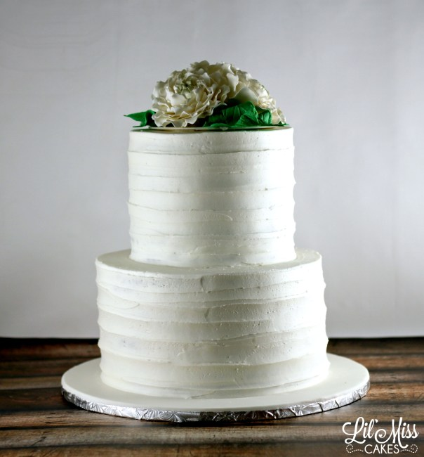 Rustic Wedding Cake | Lil Miss Cakes