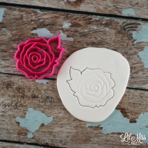 Rose Imprint Cutter   Lil Miss Cakes