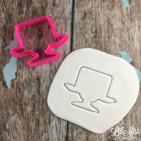 1 Tier Cake Plate Cutter | Lil Miss Cakes