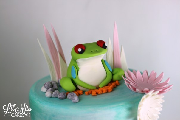 Fondant Frog | Lil Miss Cakes