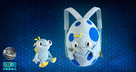 Convention Exclusive - World of Warcraft: Cute but Deadly Murloc Egg Backpack