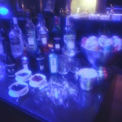 Drinks selection