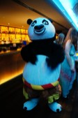 Here comes the famous panda!