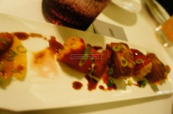 A very bad photo (so sorry La Residence!) - Pan Fried Milk-Fed Lamb - 140AED