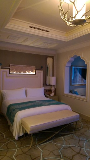 Our lovely king size bed