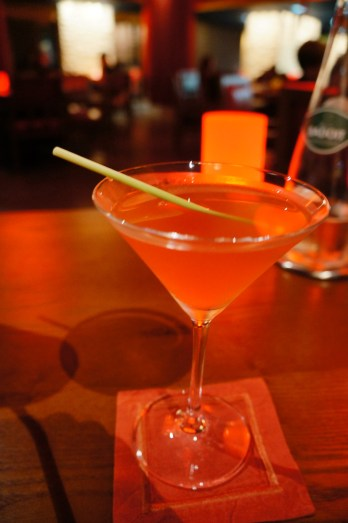 Signature drink, their Oriental Cosmo
